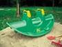 Игрушки на Колесах Качалка зеленая