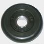 Диск обрезиненный черный Barbell 1,25 кг.